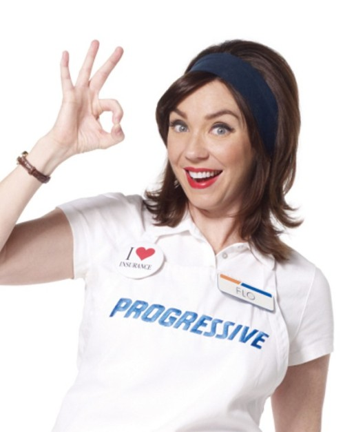 Pullin' The Pud: That Chick From The Progressive Insurance